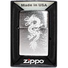 Зажигалка Zippo 200 Dragon Design 3 Бензиновая