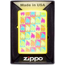 Зажигалка Zippo 28954 Zippo Boxed Flames Бензиновая