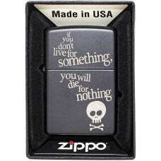 Зажигалка Zippo 29091 Live For Something Бензиновая