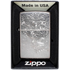 Зажигалка Zippo 29431 Iced Paisley Бензиновая