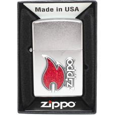 Зажигалка Zippo 28847 Zippo Red Flame Бензиновая