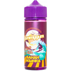 Жидкость Yummygum 120 мл Банан Жвачка 6 мг/мл