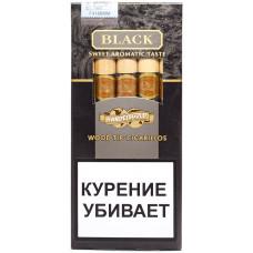 Сигариллы Handelsgold Black Wood Tip-Cigarillos 5*10*20
