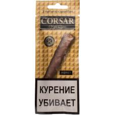 Сигариллы CORSAR 3шт 105мм Honey Мед (CORSAR Of The Queen Королевский Корсар)