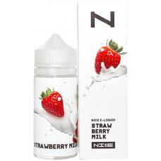 Жидкость Nice 100 мл Strawberry Milk 0 мг/мл