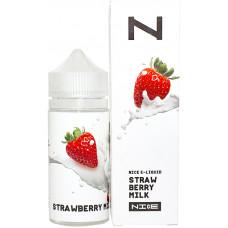 Жидкость Nice 100 мл Strawberry Milk 3 мг/мл