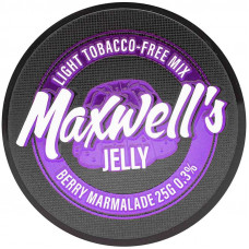 Кальянный Maxwells 25 гр Light Jelly Ягодный мармелад 0,3%