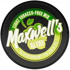 Кальянный Maxwells 25 гр Light Altay Смородиновый чай 0,3%