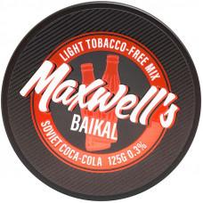 Кальянный Maxwells 125 гр Light Baikal Советская кока-кола 0,3%