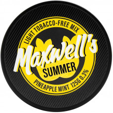 Кальянный Maxwells 125 гр Light Summer Мятный ананас 0,3%