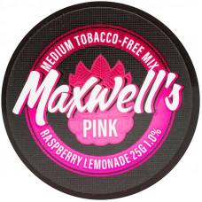 Кальянный Maxwells 25 гр Medium Pink Малиновый лимонад 1%