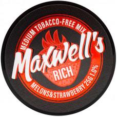Кальянный Maxwells 25 гр Medium Rich Дыня и клубника 1%
