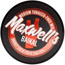 Кальянный Maxwells 25 гр Medium Baikal Советская кока-кола 1%