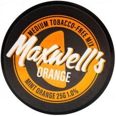 Кальянный Maxwells 25 гр Medium Orange Мятный апельсин 1%