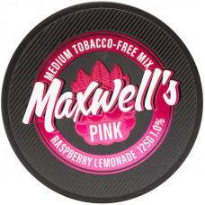 Кальянный Maxwells 125 гр Medium Pink Малиновый лимонад 1%