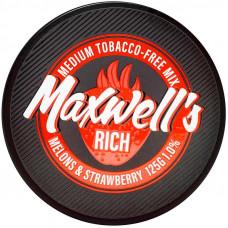 Кальянный Maxwells 125 гр Medium Rich Дыня и клубника 1%