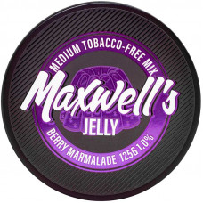 Кальянный Maxwells 125 гр Medium Jelly Ягодный мармелад 1%