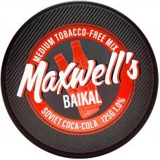 Кальянный Maxwells 125 гр Medium Baikal Советская кока-кола 1%