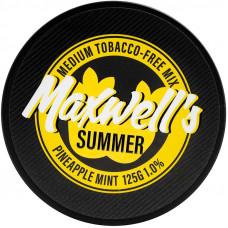 Кальянный Maxwells 125 гр Medium Summer Мятный ананас 1%