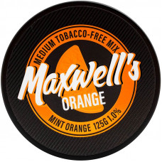 Кальянный Maxwells 125 гр Medium Orange Мятный апельсин 1%