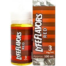 Жидкость Lyfeflavors 100 мл Red 3 мг/мл