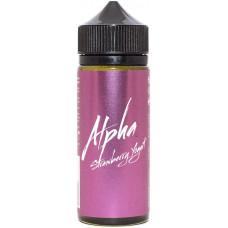 Жидкость Alpha 120 мл Strawberry Yogurt 3 мг