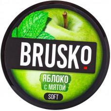 Смесь Brusko 50 гр Soft Яблоко с Мятой (кальянная без табака)
