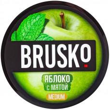 Смесь Brusko 50 гр Medium Яблоко с Мятой (кальянная без табака)