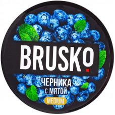 Смесь Brusko 50 гр Medium Черника с Мятой (кальянная без табака)