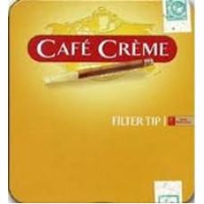 Сигариллы Cafe Creme Filter Tip (с мундштуком) 10*10*20