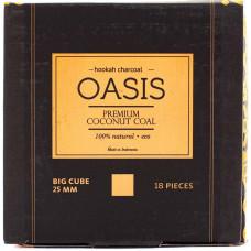 Уголь Oasis 18 куб. Кокосовый 0.25 кг 25 мм