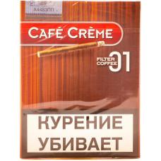 Сигариллы Cafe Creme COFFEE 8*10*30 (FILTER 01)