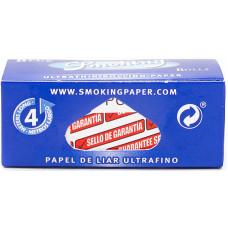 Бумага сигаретная Smoking Rolls Blue рулон 4м