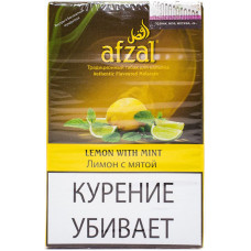 Табак Afzal 40 г Лимон с мятой (Афзал)
