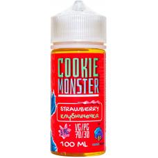 Жидкость Cookie Monster 100 мл Strawberry 3 мг/мл Клубничечка