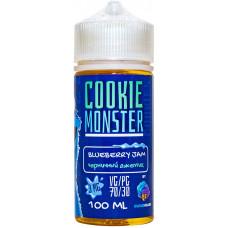 Жидкость Cookie Monster 100 мл Blueberry Jam 3 мг/мл Черничный джемик