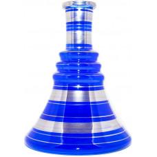 Колба Стекло Синяя h=30 см В001