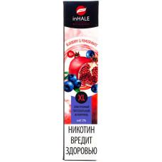 Вейп INHALE XL 800 тяг Blueberry & Pomergranade 2% Salt Одноразовый 550 mAh