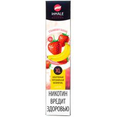 Вейп INHALE XL 800 тяг Strawberry Banana 2% Salt Одноразовый 550 mAh
