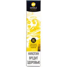 Вейп INHALE XL 800 тяг Banana Milk 2% Salt Одноразовый 550 mAh
