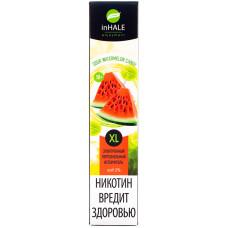 Вейп INHALE XL 800 тяг Sour Watermelon Candy 2% Salt Одноразовый 550 mAh
