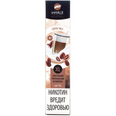 Вейп INHALE XL 800 тяг Coffee Milk 2% Salt Одноразовый 550 mAh