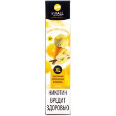 Вейп INHALE XL 800 тяг Orange Vanilla Icecream 2% Salt Одноразовый 550 mAh