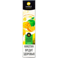 Вейп INHALE XL 800 тяг Mangoes, Apples & Oranges 2% Salt Одноразовый 550 mAh