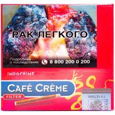 Сигариллы Cafe Creme Filter Indochine 10*10*20