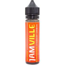 Жидкость JAM VILLE 60 мл Strawberry sandwich 0 мг/мл (Клубничный сэндвич)