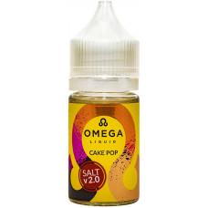 Жидкость Omega Salt 30 мл Cake Pop 24 мг/мл