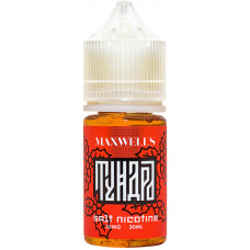 Жидкость Maxwells SALT 30 мл TUNDRA 35 мг/мл Рябина, можжевельник, мята