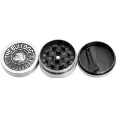 Гриндер The Bulldog Silver 3 Parts металл магнит 4 см (Измельчитель) GRZ17013