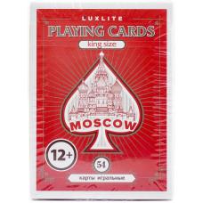 Карты игральные Luxlite Moscow 54л
